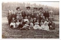 Baptist Band of Hope, Llanfair Talhaearn, 1905