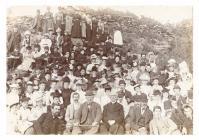 Eglwys y Garth tea party, Porthmadog, c.1900
