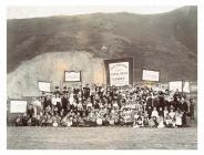 Conwy Sunday School tea party, 1902
