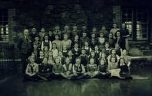 Llun ysgol, 1950au