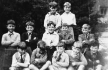 Rose, Anne, Alwyn a Carrol yng Nglanllyn, 1962