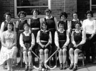 Machynlleth County High School hockey team, 1962