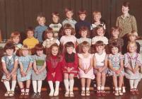 Dosbarth ysgol, 1976