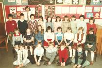 School class, 1980s