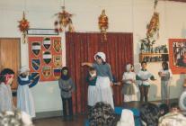 Cyngerdd yr Adran Iau, Nadolig 1987, Ysgol Gynradd Casllwchwr