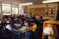 Open plan teaching, Casllwchwr County Primary...
