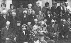 Groeslon pensioners, 1955