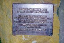 Cerflun Howard Winstone (1939 - 2000), Pencampwr pwysau plu y Byd 1969