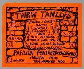 Poster Twrw Tanllyd Pafiliwn Pontrhyfendigaid