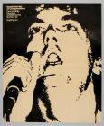 Poster gig Geraint Jarman