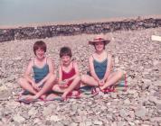 Gwyliau ar draeth Dinas Dinlle, 1982