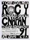 Poster gŵyl Roc Y Cnapan 1991