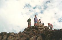 Climbing Snowdonia, 1995