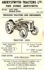 Hysbyseb Aberystwyth Tractors Ltd [Saesneg]