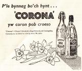 Corona pop advertisement [Welsh]
