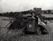 The first combine made by Jones Balers tested...
