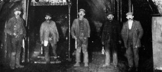 Pit bottom, Lewis Merthyr Colliery, Trehafod,...