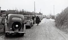 Cars in Sully 1953