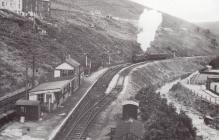 Abergwynfi station