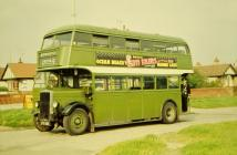 Crosville double decker, Rhyl, 1958