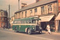 Caerphilly bus 1950 (C. Carter)