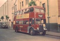 Typical Rhondda Transport bus Pontypridd 1952 ...