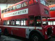 AEC Regent V bus at Swansea Bus Museum