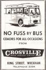 Hysbyseb Crosville [Saesneg]