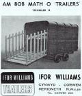 Hysbyseb 'trailers' Ifor Williams
