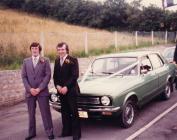 Euros Lewis & Stanley Thomas during Euros&...