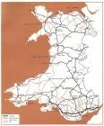 Highway network in Wales, 1980s [Welsh]