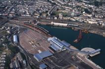 Aerial photo of Hollyhead
