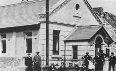 Cefn Cribwr Miners' Institute, about 1920