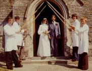 The marriage of Anne Jones and Gerald Morgan
