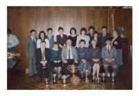 Cinio Blynyddol C.Ff.I. Llanwenog, c.1980