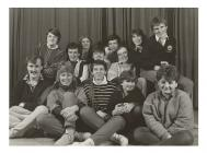 Clwb drama C.Ff.I. Pontgarreg, c.1988