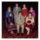 Swyddogion C.Ff.I Llanwenog, 1980au