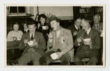Llanddewi Brefi Y.F.C. celebrating St.David&...