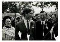 The Prince of Wales at the Royal Welsh Show, 1969