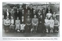 Members of Llanfarian Y.F.C., 1950s