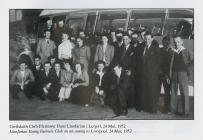 Llanfarian Y.F.C. tour to Liverpool, May 1952