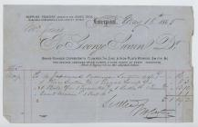 Receipt from George Swain, Wapping Foundry,...