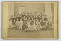 Pupils of Rawson School, Patagonia, 1880