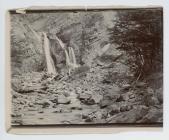 Waterfall, Silver Creek, Lake Fontana, Patagonia