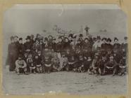 Photograph of emigrants who sailed on the...