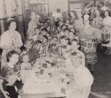 Loughor Road Coronation Party 1953