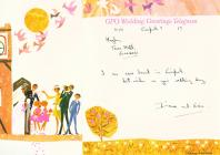 Wedding greetings telegram