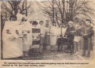 Hanes ras grempog Sefydliad y Merched o'r Cambrian News, 1989