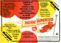 Poster ar gyfer dathliad Gŵyl Feithrin, 1983