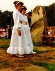 Handmaids at Bro Madog Eisteddfod, 1987